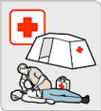 Red_cross_tent_and_man_2