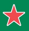 Star_heineken_on_green